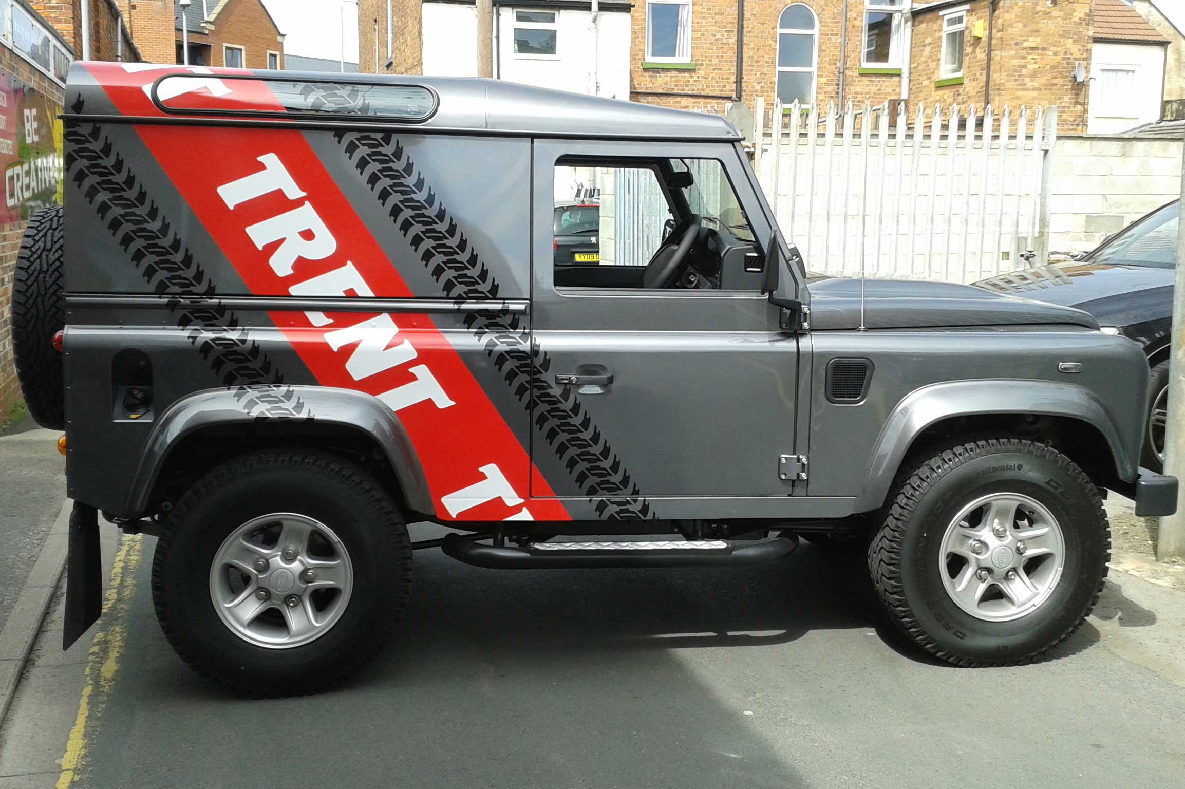 Vehicle Graphics at Burgess Design and Print, Retford